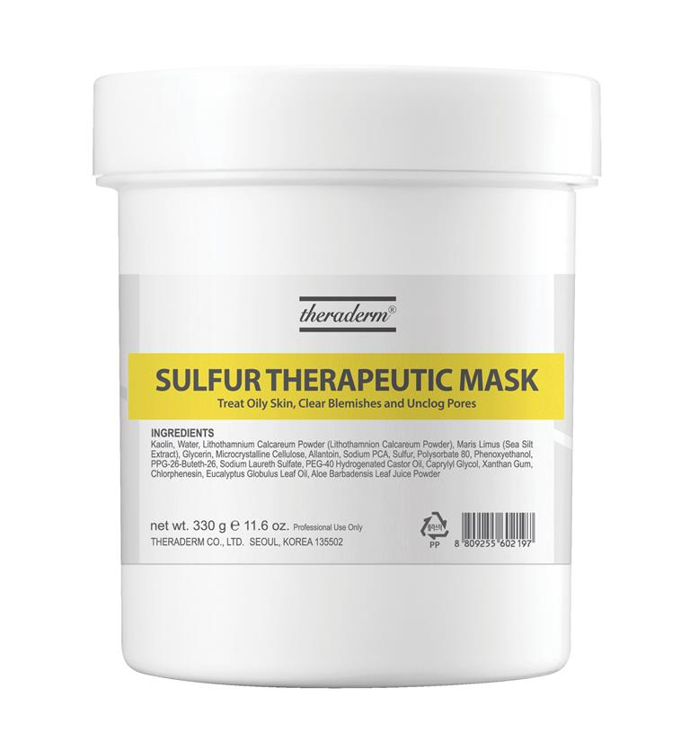 Sulfur Therapeutic Mask 330 gr.