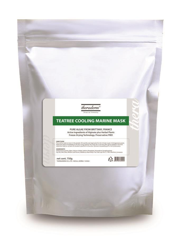 Tea Tree Cooling Marine Mask 750 gr.